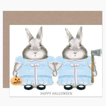 The Shining Bunnies-Greeting Cards-Miss Rosie Co.
