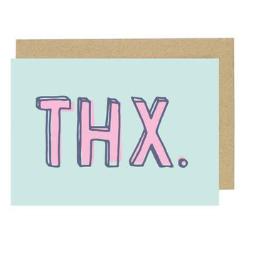 Thx Card-Greeting Cards-Miss Rosie Co.