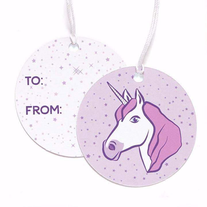 Unicorn Gift Tags-Gift Tag-Miss Rosie Co.