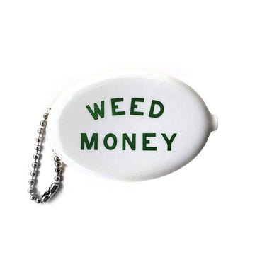 Weed Money Coin Pouch-Coin Pouch-Miss Rosie Co.