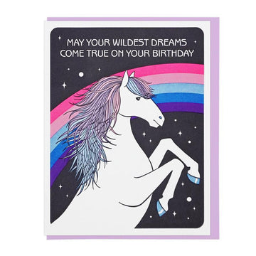 Wildest Dreams Birthday Card-Greeting Cards-Miss Rosie Co.