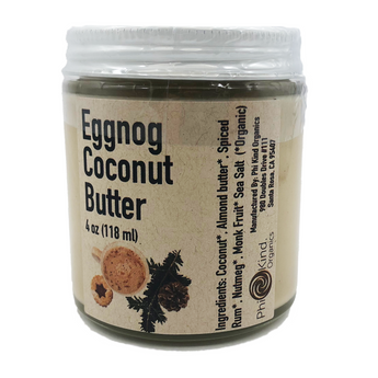 Eggnog Coconut Butter