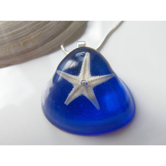 Starfish Resin Pendant, Shell, Seaside, Nature