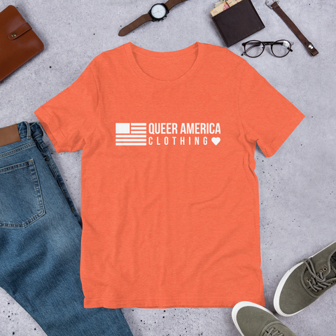 Queer America Logo Shirt - Queer America Clothing