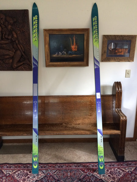 Vintage Snow Skis K2 GS RACE 10.0 1994: New, Never Drilled, For Sale - LongSkisTruck