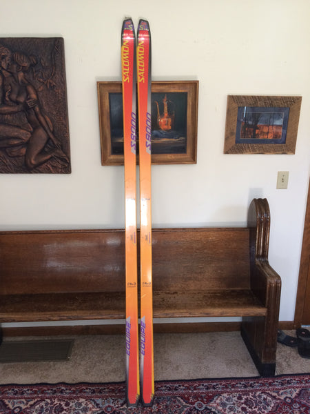 Vintage Salomon S9000 1S Pr8 'TEST' Snow Skis; Undrilled, In Factory Wrap, RARE! - LongSkisTruck