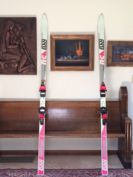 Used Elan Comprex S 205cm Snow Ski with Look ZR Pivot 13 Bindings For Sale - LongSkisTruck