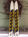 Vintage 1980 K2 810-FO Snow Ski 200cm w/ Salomon 727 Bindings For Sale: - LongSkisTruck