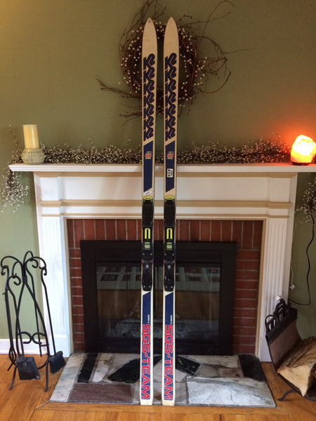 Vintage Snow Ski 1986 K2 Super G SGS-TEAM 212cm Man Cave One Of A Kind BadAss! - LongSkisTruck