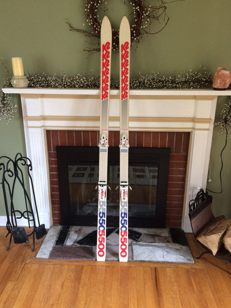 Vintage Snow Skis For sale: K2 5500 w/ Tyrolia 480 Bindings 185cm Great Bump Ski - LongSkisTruck