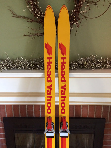 Vintage Head Yahoo Freestyle Snow Skis For Sale With