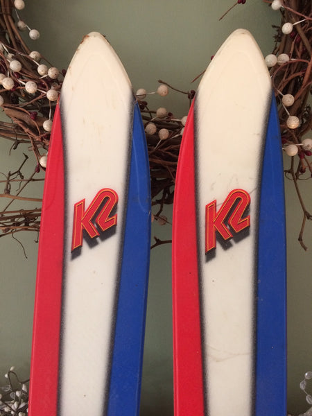 Vintage Snow Ski For Sale: K2 Three 78 1999 178cm Marker M27 Binding Great Shape