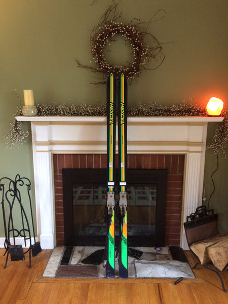 Vintage Snow Skis For Sale: HEXCEL HEXCELERATOR, 170cm Spademan Bindings, Mint! - LongSkisTruck