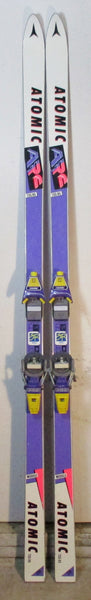 Used Excellent Condition Atomic ARC 735 RS 215cm Snow Ski with Look Pivot 14 ZRC Bindings For Sale - LongSkisTruck