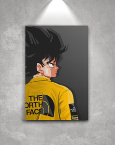 """Goku Supreme x TNF 2.0 Canvas"" - no sply"