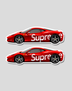 """Supreme Rari"" (2 Stickers) - no sply"