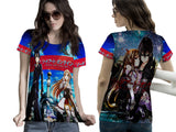 SWORD ART ONLINE PRINTED WOMEN 3D T-SHIRT