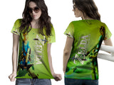 THE LEGEND OF ZELDA Womens TOP T-Shirt Video Game Custom Fullprint Sublimation sizes: S to 3XL