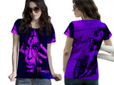 Prince Memorial Fans Woman T-Shirt 3D Fullprint Sublimation Size : S To 3XL