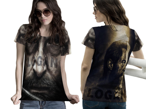 LOGAN Fans Woman T-Shirt 3D Fullprint Sublimation Size : S To 3XL