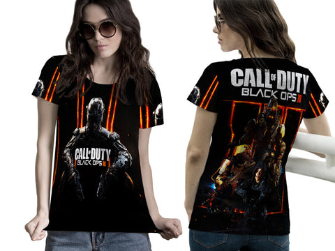 CALL OF DUTY PRINTED WOMEN T-SHIRT