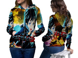 SWORD ART ONLINE PRINTED SUBLIMATION 3D ZIPPER HOODIE FOR WOMEN