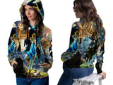 LEGEND OF ZELDA PRINT SUBLIMATION 3D PULLOVER HOODIE FOR WOMEN