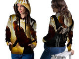 LOGAN Fans Women PullOver Hoodie 3D Fullprint Sublimation Size : S To 3XL