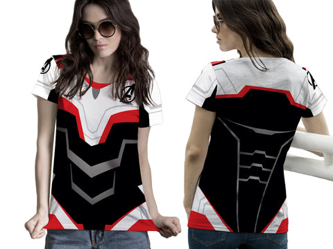New Fans Avengers Endgame Costume 3D Digital Printed Sublimation Women's T-Shirt sizes: S to 3XL