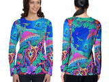 DMT 3D Digital Printed Sublimation Long Sleeve T-Shirt Art 7