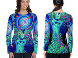 DMT 3D Digital Printed Sublimation Long Sleeve T-Shirt Art 6