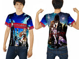 SWORD ART ONLINE PRINTED MEN 3D T-SHIRT