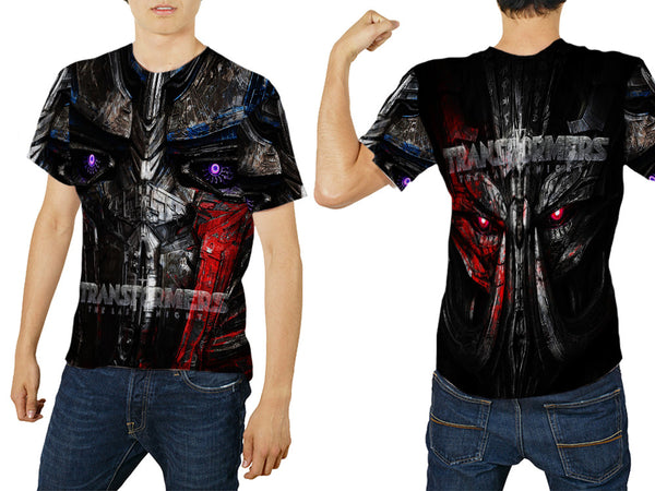 Transformers The Last Knight Fans Men T-Shirt 3D Fullprint Sublimation Size : S To 3XL