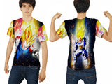 VEGETA DRAGON BALL PRINTED MEN 3D T-SHIRT