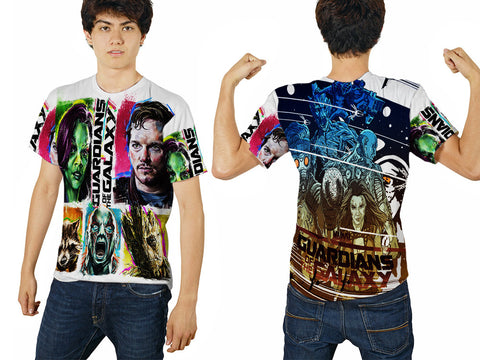 GUARDIANS GALAXY PRINTED MEN 3D T-SHIRT