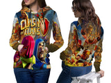 Clash of Clans For Women Zipper Hoodie 3D Fullprint Sublimation Size : S To 3XL
