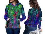 DMT 3D Digital Printed Women's Hoodie Sublimation Art 5