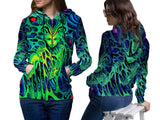 DMT 3D Digital Printed Women's Hoodie Sublimation Art 4