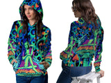 DMT 3D Digital Printed Women's Hoodie Sublimation Art 15