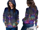 DMT 3D Digital Printed Women's Hoodie Sublimation Art 21