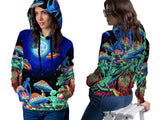 DMT 3D Digital Printed Women's Hoodie Sublimation Art 12