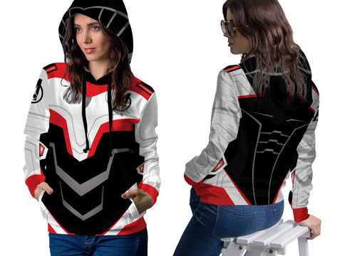 New Fans Avengers Endgame Costume 3D Digital Printed Women's PullOver Hoodie sizes: S to 3XL