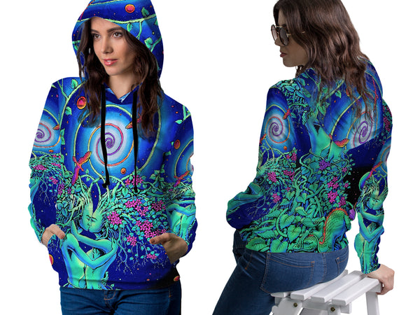 DMT 3D Digital Printed Women's Hoodie Sublimation Art 6