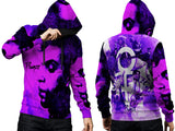 Prince Memorial Fans Man PullOver Hoodie Custom Fullprint Sublimation sizes: S to 3XL