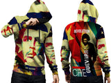 CHE GUEVARA PRINT SUBLIMATION 3D PULLOVER HOODIE FOR MEN