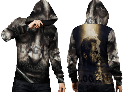 LOGAN Fans Man PullOver Hoodie 3D Fullprint Sublimation Size : S To 3XL