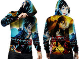 SWORD ART ONLINE PRINTED SUBLIMATION 3D PULLOVER HOODIE FOR MEN
