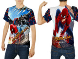 New Spider-Man Homecoming Fans Man Top T Shirt 3D Fullprint Sublimation Size : S To 3XL