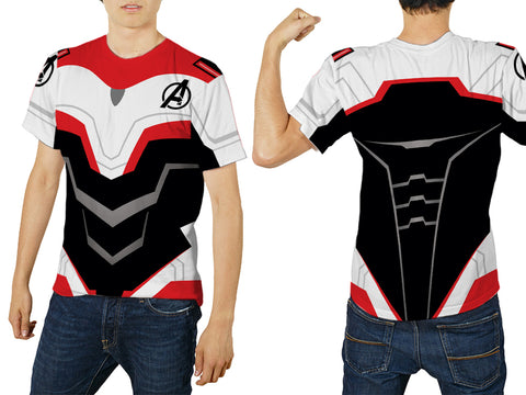 New Fans Avengers Endgame Costume 3D Digital Printed Sublimation Men's T-Shirt sizes: S to 3XL