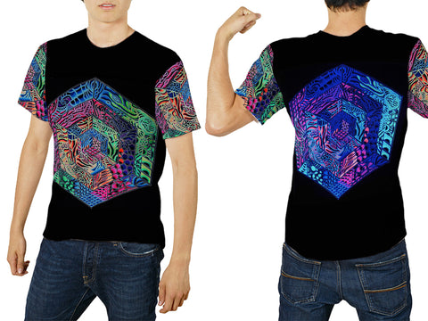 DMT 3D Digital Printed Sublimation T-Shirt Art 1